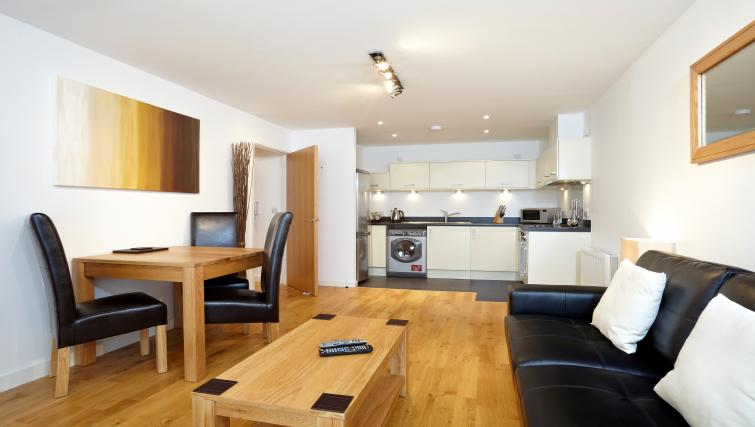 Spacious living area at Pennant House Apartments - Citybase Apartments